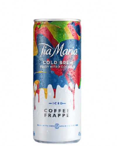Tia Maria Coffee Frappe Cold Brew Cocktail 200ml (12Pk Cans) -